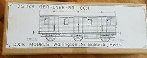 D&S Models GER/LNER/BR CCT etched brass kit