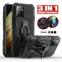 For Samsung Galaxy S21 Ultra S21 Plus Shockproof Hybrid Armor Stand Case Cover