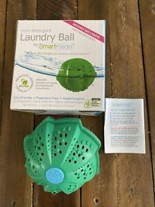 Smartklean Laundry Ball-Ditch Toxic Laundry Detergents Forever! Go Organic! NEW