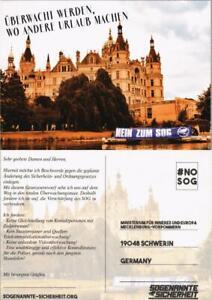 Ansichtskarte Schwerin Schweriner Schloss 2015