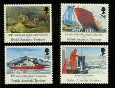 British Antarctic Territory   1991   Scott # 184-187   Mint Never Hinged Set
