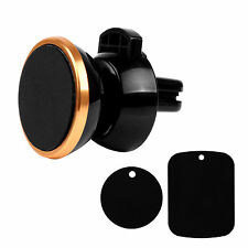360° Rotation Magnetic Support Phone Navigation Holder Car Air Vent Mount Clips