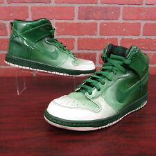 Nike Dunk Hi Supreme Spark Destroyers Mens Shoes Sz 9.5 Green 349710-131