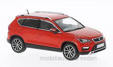 PremiumX PRXD583 Seat Ateca rot 2016 Maßstab 1:43 Modellauto NEU! °