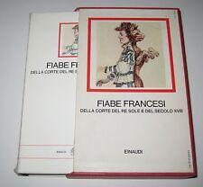 FIABE FRANCESI I Millenni Einaudi 1984