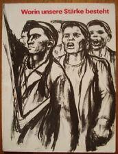 German Working Class 1880-1980 Revolution Catalog-album Communist propaganda