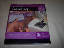 Sewing 101 Revised & Updated,Master Basic Skills & Techniques,DVD Tutorials
