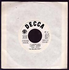 THE ROLLING STONES DISCO 45 GIRI JUKE BOX LADY JANE B/W THE LAST TIME - DECCA