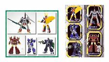 HG GASHAPON EX FIGURE SUNRISE ROBOT PART 3 SET BANDAI 2001 (DAITARN 3/IRON GEAR)