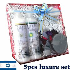 Dead Sea Minerals Spa Kit Shampoo+ Conditioner+ Facial Scrub+ Foot Scrub+ Pumice