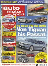 Auto Motor und Sport Heft 2, Januar 2013