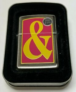 Vintage Zippo 1995 Ampersand & Lighter | BARRETT SMYTHE | MINT IN BOX |