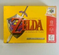 Zelda Ocarina of Time - Nintendo 64 (Boxed With Manual) Collectors Item
