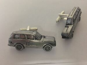 Range Rover 2 Door 3D cufflinks classic car pewter effect cufflinks ref196