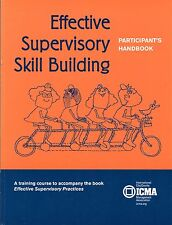 Effective Supervisory Skill Building : Participant's Handbook by Lydia Bjornlund