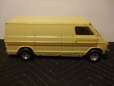 Vintage Ertl Dodge United Telephone System Van 1970's  Pressed Steel 11""