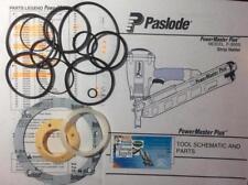 PASLODE F250S F350S POWERMASTER NAILER REPAIR O-RING kit 402011, 501001, 500407