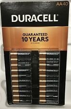 DURACELL AA ALKALINE BATTERIES 40 Ct Coppertop Batteries(FREE EXPEDITED SHIPPING