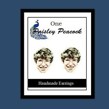 STEPHEN HAWKING Earrings -Young