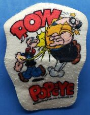 Vintage Popeye & Brutus Patch 1980 King Features Pow (Used Condition Patch)