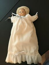 """Beautifully Hand Painted and Signed """"Bye-Lo Type"""" Bisque Head Baby Doll"""