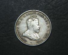 1910 Australian Sixpence, error planchet flaw.