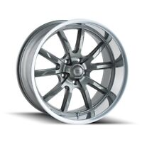 CPP Ridler 650 wheels 18x8 + 20x8.5 fits: CHEVY IMPALA CHEVELLE SS
