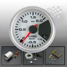 "Boost gauge Turbo stepper motor display 7 colour 52mm 2"" dash mount panel pod"