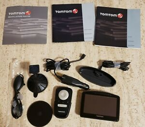 TomTom Car GPS Unit with Touchscreen Interface  MP3 & Remote Control