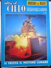 Rivista aeronautica OLTRE IL CIELO - MISSILI E RAZZI n.119, 1-31 agosto 1963