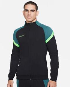 Nike Giacca Tuta Allenamento Academy elastico Uomo Nero Tasche con zip