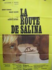 Affiche LA ROUTE DE SALINA. 120 x 160 cms. Lautner, Mimsy farmer