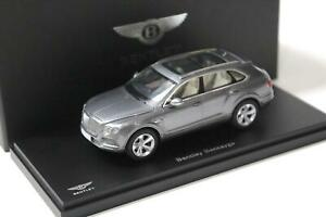 1:43 Kyosho Bentley Bentayga Tungsten grey metallic
