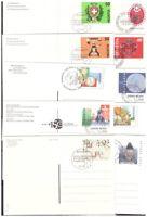 Schweiz Sammlung 35 Postkarten gestempelt