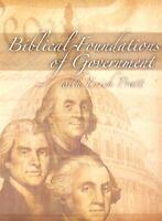 American Family Asso 2 DVD Set: Biblical Foundations of Government - Erich Pratt