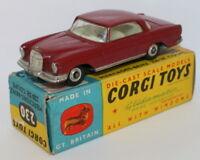 Corgi Toys 230 - Mercedes Benz 230SE Coupe - Red