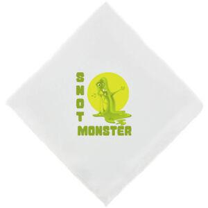 'SNOT MONSTER' Mens Novelty Handkerchief Funny Hankie Fun Gifts for Men