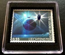 Liechtenstein 2017 Space First Sapphire - Stamp in World Weltall Edelsteine MNH