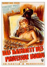 Plakatkarten-Collection VINCENT PRICE / 19 Karten Cinema / Video Plus