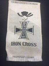 Antique Iron Cross Tobacco Silk Egyptienne Luxury Flag Cross Church ReligIon