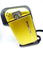SANYO VPC-CA65EX HD Xacti Pocket Dual Camera Digital Camcorder WATERPROOF Yellow