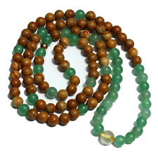 Long Beach Mala - 108 Count - Tibetan Hindu Buddhism Spiritual Prayer Beads
