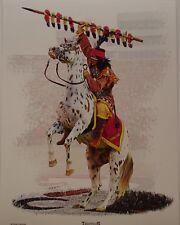 Florida State Seminoles mascot Chief Osceola and Renegade print FSU