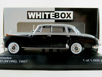 WhiteBox WB186 Mercedes-Benz 300 d Lim. (1957) in schwarz/grau 1:43 NEU/OVP