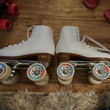 Chicago Skates Roller Skates Quad Skates Size 5 Women's - Ladies White Pro Star
