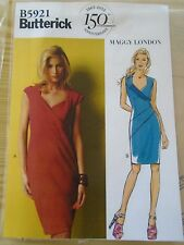 "PATRON ""BUTTERICK  ROBE CREATION MAGGY LONDON     T 36 AU 44  N°5921  (A)"