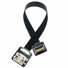 FPV Down Angled 90 Degree HDMI Type A Male to Female HDTV FPC Flat Cable
