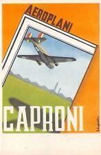 C5078) AVIAZIONE, AEROPLANO CAPRONI 135 BIS. ILL. REBAGLIATI.