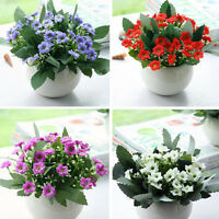 36 Heads Artifical Silk Flowers Bouquet Orchid Home Wedding Party Decor 8 Colors