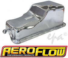 AEROFLOW FORD 289 302 WINDSOR V8 CHROME REPLACEMENT OIL PAN / SUMP AF82-9078C